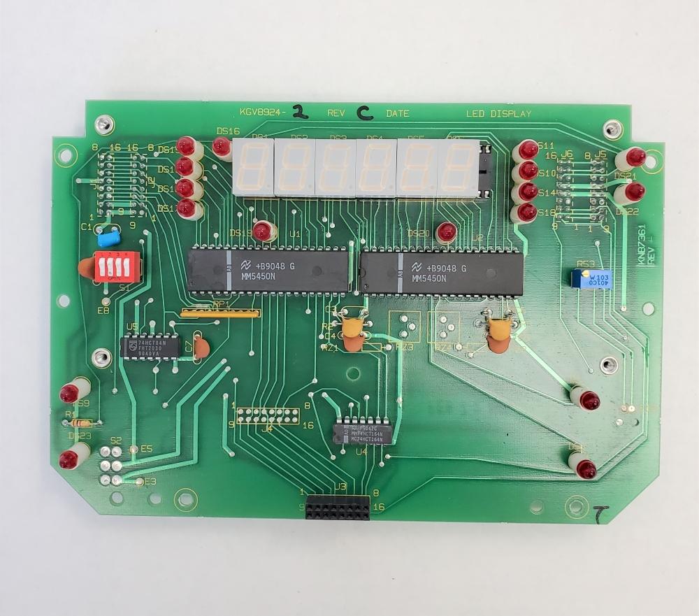 Rice Lake IQ700 (or UMC600) Display board