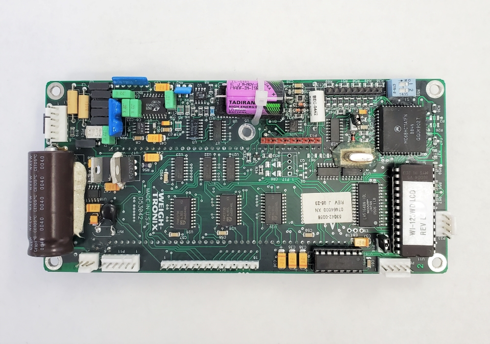Weigh-Tronix WI-125 Main board (LCD display) standard or forklift program