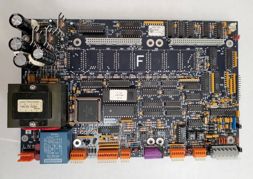 Weigh-Tronix WI-127 Main board